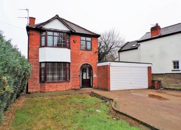 Thumbnail 3 bed detached house for sale in Melton Road, Queniborough, Leicester, Leicestershire