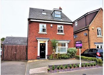 Thumbnail 4 bed detached house for sale in Hough Way, Essington, Wolverhampton