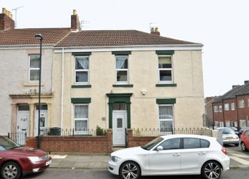Thumbnail 3 bed terraced house for sale in Stanley Street West, North Shields