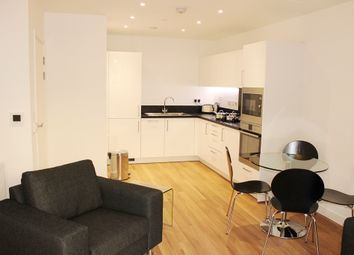 Thumbnail 1 bedroom flat to rent in Waterside Park, Kingfisher Heights, Royal Docks