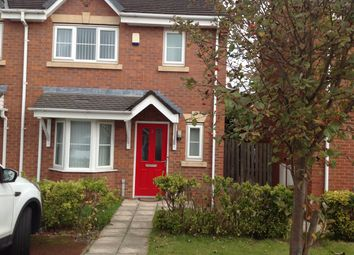 Thumbnail 3 bed town house to rent in Barnton Close, Bootle