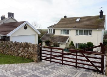 Thumbnail 5 bedroom detached house for sale in Reynoldston, Swansea