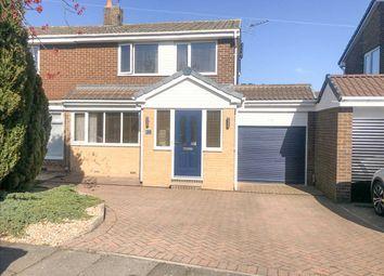 Thumbnail 3 bed semi-detached house for sale in Highburn, Stonelaw Grage, Cramlington