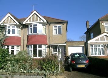 Thumbnail 3 bed semi-detached house to rent in Chester Drive, North Harrow