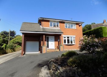 Thumbnail 4 bed detached house for sale in Mow Cop Road, Mow Cop, Staffordshire
