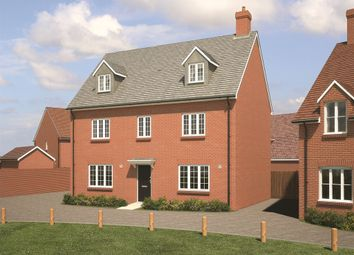 "Thumbnail 5 bed detached house for sale in ""The Petworth"" at Fogwell Road, Botley, Oxford"