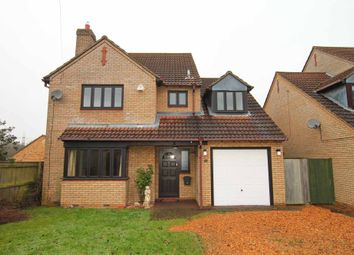 Thumbnail 4 bedroom detached house to rent in Swaffham Road, Burwell