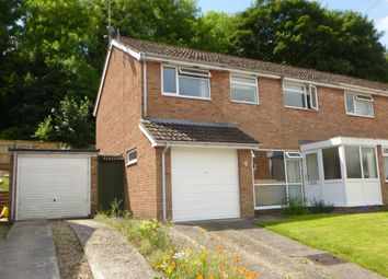 Thumbnail 4 bedroom semi-detached house for sale in Hollows Close, West Harnham, Salisbury