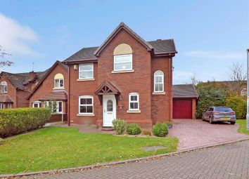 Thumbnail 3 bed detached house for sale in Barleywood Close, Wistaston, Crewe