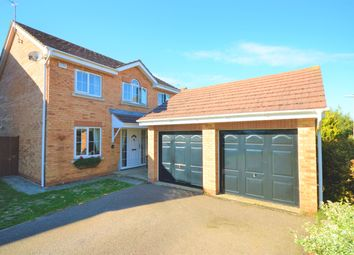 Thumbnail 4 bed detached house for sale in Cooper Court, Thrapston, Kettering
