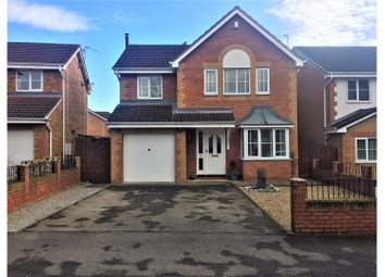 Thumbnail 4 bed detached house for sale in Larkspur Court, Bishop Auckland