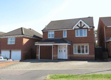 Thumbnail 4 bed detached house to rent in Coltfoot Way, Melton Mowbray
