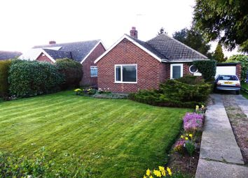 Thumbnail 3 bed detached bungalow for sale in School Lane, Broadholme, Lincoln