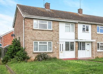 Thumbnail 3 bedroom end terrace house for sale in Southfields Avenue, Stanground, Peterborough