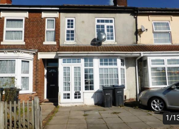 Thumbnail 1 bed terraced house for sale in Alum Rock Road, Birmingham