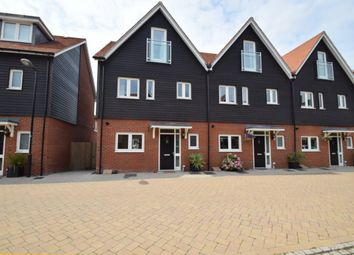 Thumbnail 4 bed end terrace house to rent in Schuster Close, Cholsey, Wallingford