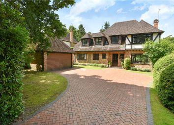 Thumbnail 5 bed detached house for sale in Ravenswood Avenue, Crowthorne, Berkshire