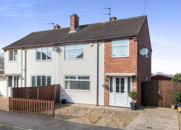 Thumbnail 3 bed semi-detached house for sale in Moorland Close, Sprowston, Norwich