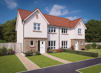 "Thumbnail 3 bed semi-detached house for sale in ""The Banton"" at Hamilton Road, Larbert"