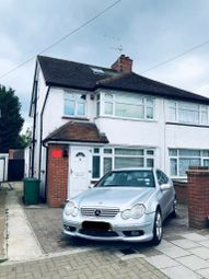 Thumbnail 5 bed semi-detached house to rent in Wellback Road, Harrow