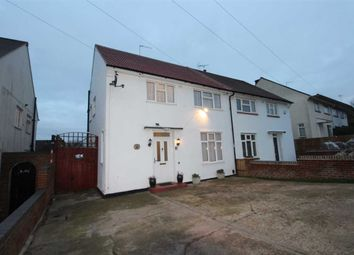 Thumbnail 3 bed semi-detached house for sale in Graveley Avenue, Borehamwood