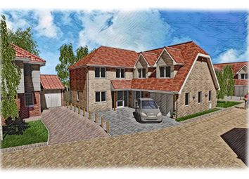 Thumbnail 5 bed detached house for sale in Spire View, Jobs Lane, March