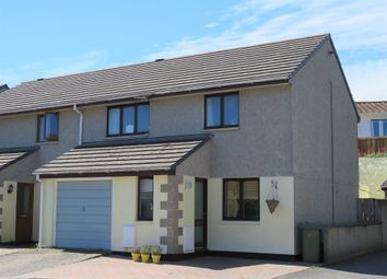 Thumbnail 3 bed semi-detached house for sale in Crun Melyn Parc, Hayle, Cornwall