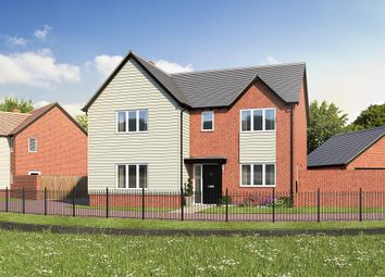 Thumbnail 4 bed detached house for sale in Station Road, Ibstock