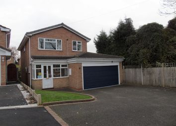 Thumbnail 4 bed detached house for sale in Ladypool Close, Halesowen