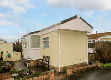 Thumbnail 1 bedroom mobile/park home for sale in Paddock Park, Worle, Weston Super Mare, North Somerset