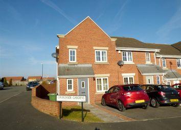 Thumbnail 3 bed terraced house for sale in Churchside Gardens, Easington Lane, Houghton Le Spring
