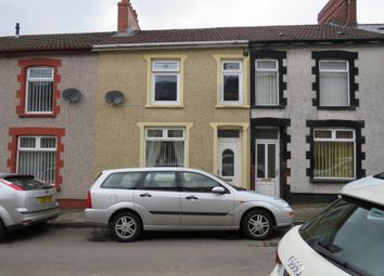 Thumbnail 3 bed terraced house for sale in Cwrt Coch Street, Aberbargoed, Bargoed