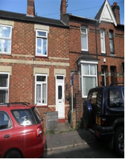 Thumbnail 2 bed terraced house to rent in Union Street, Kettering