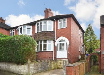 Thumbnail 3 bed semi-detached house for sale in Highfield Avenue, Longton, Stoke-On-Trent