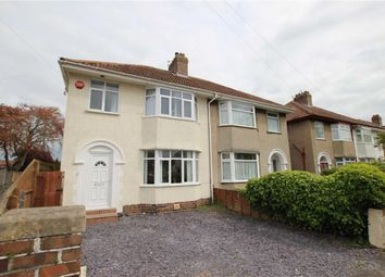 Thumbnail 3 bed property for sale in Mansfield Avenue, Weston-Super-Mare