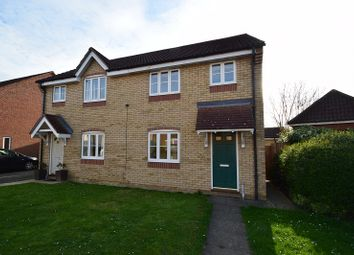 Thumbnail 3 bedroom semi-detached house to rent in Speedwell Road, Wymondham, Norfolk