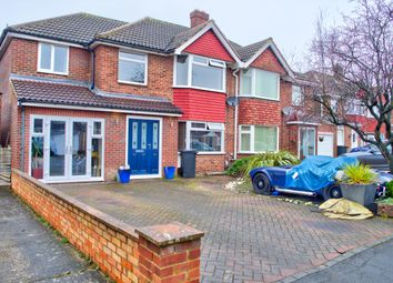 Thumbnail 4 bed semi-detached house for sale in Bucklebury Close, Swindon