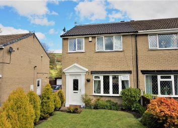 Thumbnail 3 bed semi-detached house for sale in Oakdale Close, Halifax