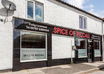 Thumbnail Restaurant/cafe for sale in Silver Street, Riccall, York
