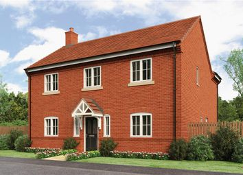 "Thumbnail 4 bed detached house for sale in ""Evesham"" at Loxley Road, Wellesbourne, Warwick"