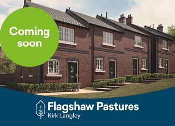 Thumbnail 2 bed terraced house for sale in Ashbourne Road, Kirk Langley, Ashbourne, Derbyshire