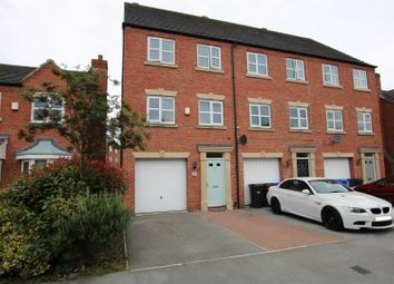 Thumbnail 3 bedroom town house for sale in Blakeholme Court, Burton-On-Trent