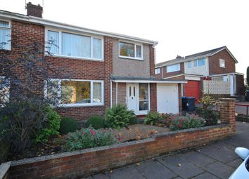 Thumbnail 3 bed semi-detached house for sale in Norham Road, Newton Hall, Durham