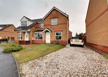 Thumbnail 2 bed semi-detached house for sale in St. Davids Crescent, Bottesford, Scunthorpe