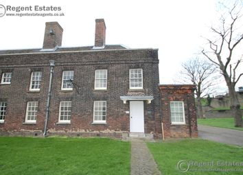 Thumbnail 2 bed end terrace house to rent in The Officers Block, Tilbury Fort, Fort Road, Tilbury