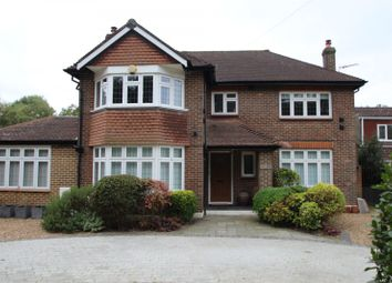 Thumbnail 5 bed detached house to rent in Oxshott Road, Leatherhead