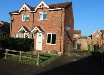 Thumbnail 2 bed semi-detached house to rent in Factory Lane, Roydon, Diss