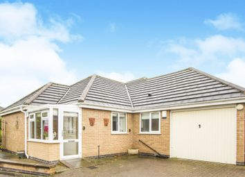Thumbnail 2 bedroom detached bungalow for sale in Lobbs Wood Court, Leicester