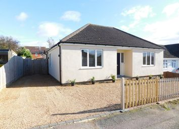 Thumbnail 4 bed detached bungalow for sale in The Gardens, Stotfold, Herts