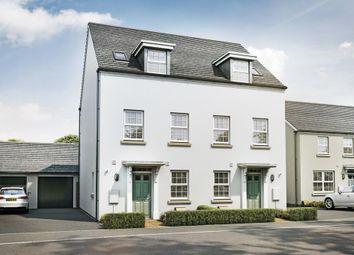 "Thumbnail 3 bedroom semi-detached house for sale in ""Greenwood"" at Redmoor Close, Tavistock"